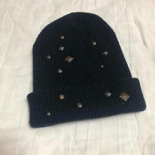 リズリサ(LIZ LISA)のニット帽(ニット帽/ビーニー)