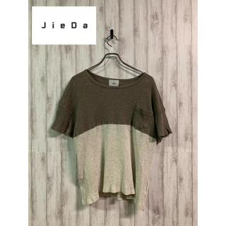 ジエダ(Jieda)のJieda half change Pocket T-shirt ジエダ ポケT(Tシャツ/カットソー(半袖/袖なし))