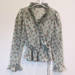 ハニーミーハニー(Honey mi Honey)のhoney mi honey ♡ rose cache-coeur blouse(シャツ/ブラウス(長袖/七分))