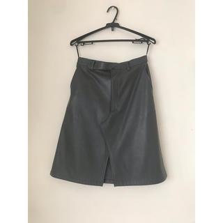 ジーヴィジーヴィ(G.V.G.V.)の合皮スカート(ひざ丈スカート)