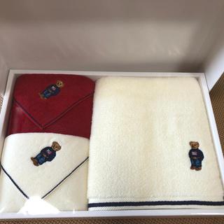 ラルフローレン(Ralph Lauren)の【新品】ラルフローレン タオルセット(日用品/生活雑貨)
