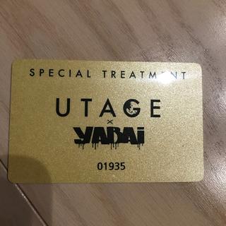 UTAGE カード(クラブミュージック)