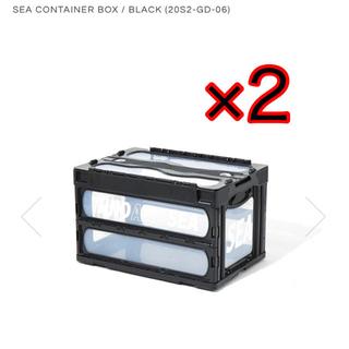 シュプリーム(Supreme)のwind and sea container 黒 black 2セット(ケース/ボックス)