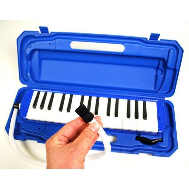 【超人気】鍵盤ハーモニカ メロディピアノ 32鍵 ブルー 楽器の鍵盤楽器(電子ピアノ)の商品写真
