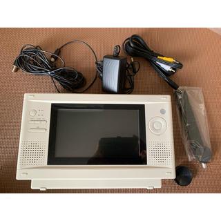 ムジルシリョウヒン(MUJI (無印良品))の無印良品 ワンセグ機能付き 防水DVDプレイヤー(ポータブルプレーヤー)