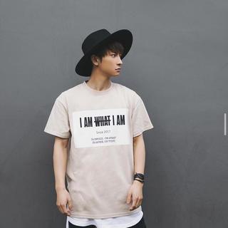 トリプルエー(AAA)のI AM WHAT I AM 19ss Tシャツ ベージュ(Tシャツ/カットソー(半袖/袖なし))