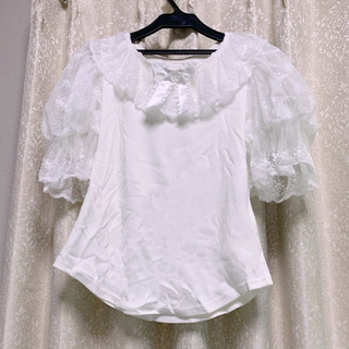 アンジェリックプリティー(Angelic Pretty)のangelic pretty Lacy Princess半袖カットソー 新品(カットソー(半袖/袖なし))