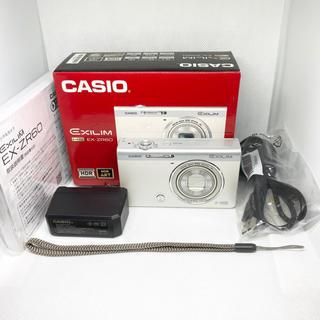 カシオ(CASIO)のCASIO HIGH SPEED EXILIM EX-ZR60WE(コンパクトデジタルカメラ)
