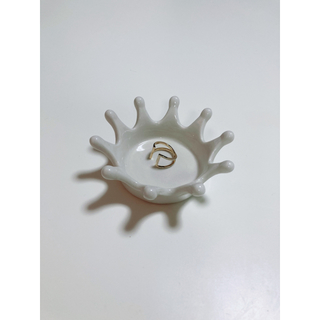 ザラ(ZARA)のゴールドデザインリング(リング(指輪))