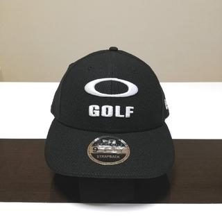 オークリー(Oakley)の2020限定★USオークリー*NEW ERA コラボ3D GOLFロゴ CAP黒(その他)