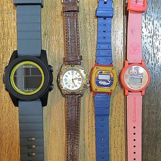 ニクソン(NIXON)のjunk × 4 NIXON、CASIOほか(腕時計(デジタル))