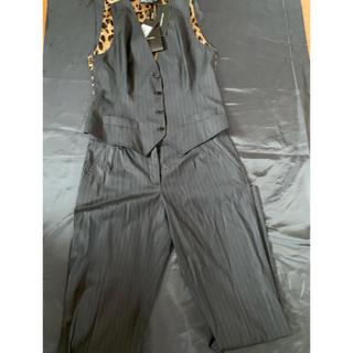 ドルチェアンドガッバーナ(DOLCE&GABBANA)の新品DOLCE&GABBANA ストライプ パンツ ベスト セット(スーツ)