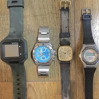 ニクソン(NIXON)のjunk × 4 NIXON、TOWN&COUNTRYほか(腕時計(デジタル))