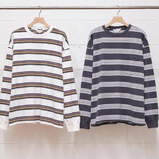 アンユーズド(UNUSED)のunused 20ss ボーダー アンユーズド comoli sunsea (Tシャツ/カットソー(七分/長袖))