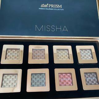 ミシャ(MISSHA)の未使用 ミシャ アイシャドウ 8個 まとめ売り(アイシャドウ)