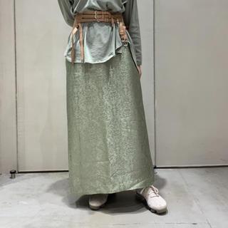ニトカ(nitca)のニトカ nitca サテンジャガードスカート(ロングスカート)