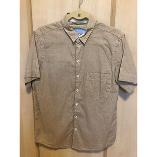 ナナミカ(nanamica)のナナミカ ギンガムチェック 半袖シャツ Mサイズ(シャツ)