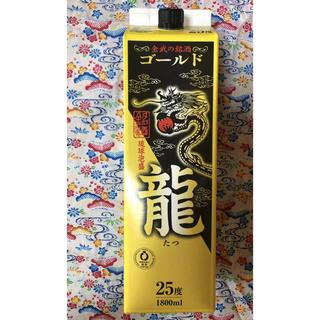 泡盛 龍 (たつ) ゴールド ■25度 1800ml  ■12本セット(焼酎)