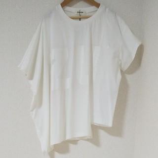 ズッカ(ZUCCa)の新品 コントラストロゴTシャツ(カットソー(半袖/袖なし))