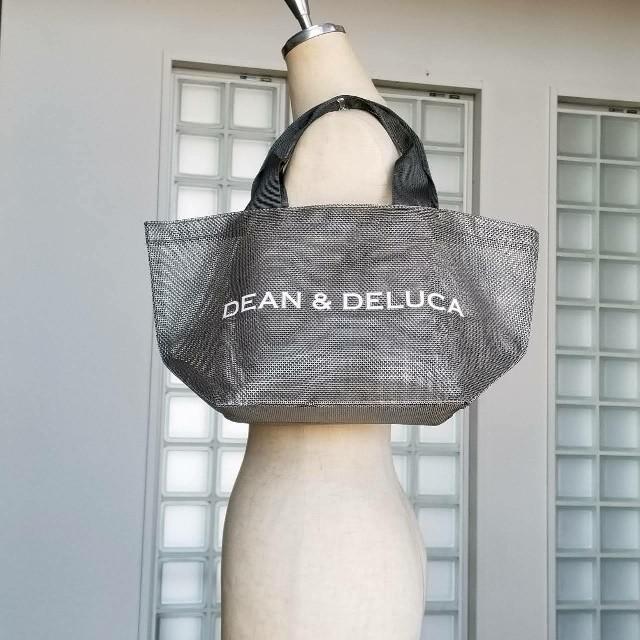 Dean Deluca Dean Deluca今季グレーメッシュトートスモール新品の通販 By My Sense My Room S Shop ディーンアンドデルーカならラクマ