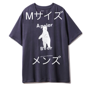 ジェラートピケ(gelato pique)の新品 シロクマ ワンポイント冷感Tシャツ HOMME シロクマフェア(Tシャツ/カットソー(半袖/袖なし))