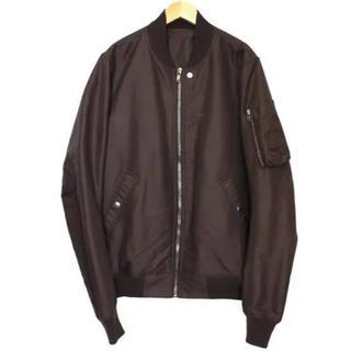 リックオウエンス(Rick Owens)のRick owens flight bomber jacket(ブルゾン)