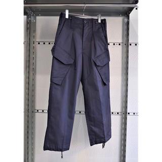 マルタンマルジェラ(Maison Martin Margiela)のvintage イギリス軍 ロイヤルネイビー 斜めポケット 紺色 カーゴパンツ(ワークパンツ/カーゴパンツ)