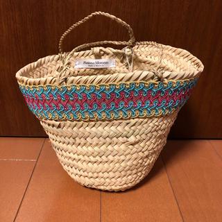 ファティマモロッコ(Fatima Morocco)の新品未使用 タグ付き ファティマモロッコ カゴバッグ(かごバッグ/ストローバッグ)