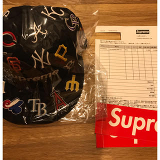 シュプリーム(Supreme)のSupreme MLB Box Logo New Era 7 3/8(キャップ)