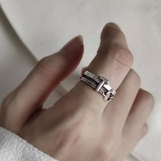 トゥデイフル(TODAYFUL)のsilver925  デザイン シルバーリング 指輪シルバー925 指輪(リング(指輪))