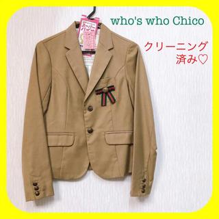 フーズフーチコ(who's who Chico)の♡クリーニング済み♡ who's who Chico ♥︎ テーラードジャケット(テーラードジャケット)