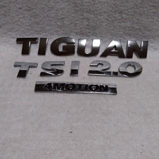 フォルクスワーゲン(Volkswagen)の※フォルクスワーゲン「ティグアン」純正ゲートエンブレム(車内アクセサリ)
