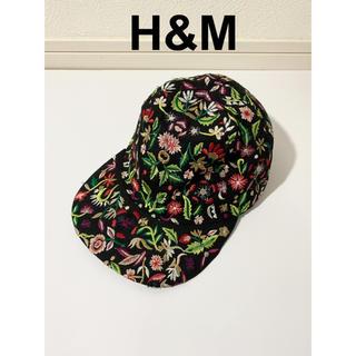 エイチアンドエム(H&M)のH&M ボタニカル柄 キャップ(キャップ)