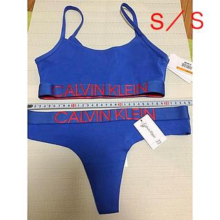 カルバンクライン(Calvin Klein)のカルバンクライン  ブラトップ、Tバックショーツ   ブラS/TショーツS(ブラ&ショーツセット)