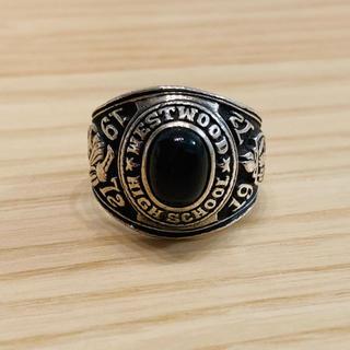 ヴィンテージ カレッジリング 1972年(リング(指輪))