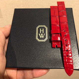 ハリーウィンストン(HARRY WINSTON)のハリーウィンストン アベニューCミニ 時計ベルトのみ 美品(腕時計)