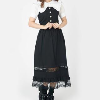 アンクルージュ(Ank Rouge)のアンクルージュ vintage like ジャンパースカート(ロングスカート)
