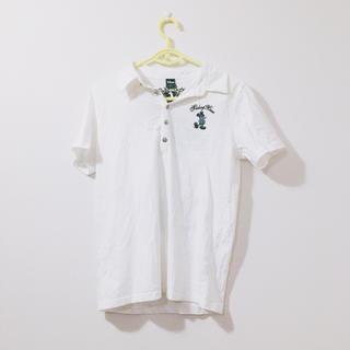 ディズニー(Disney)のミッキーシルエットのポロシャツ(ポロシャツ)