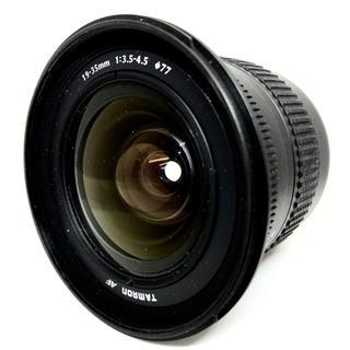 TAMRON AF 19-35mm F3.5-4.5 Canon用(レンズ(ズーム))