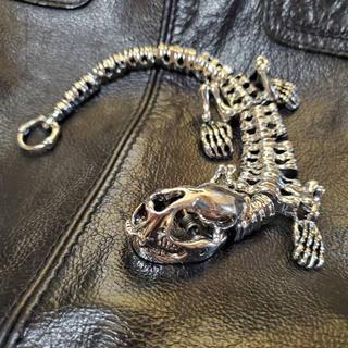 トーガ(TOGA)のSkelton Dinosaur bracelet シルバーブレスレット(ブレスレット)