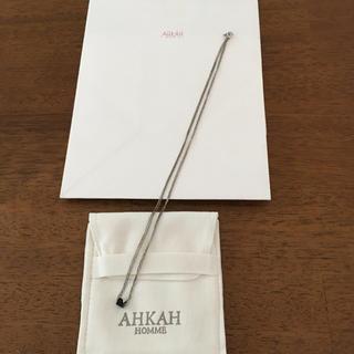 アーカー(AHKAH)のあこ様専用  AHKAH HOMME オニキス パーフェクトキューブ ネックレス(ネックレス)