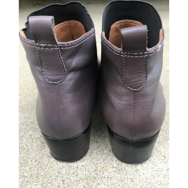 あしながおじさん(アシナガオジサン)のショートゴアブーツ あしながおじさん(グレー) レディースの靴/シューズ(ブーツ)の商品写真