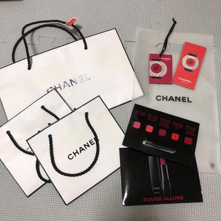 シャネル(CHANEL)のシャネル リップテスター ショップ袋(リップライナー)