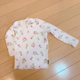 ブランシェス(Branshes)のトップス ロンT 80 女の子 ベビー 長袖 Tシャツ ラッドチャップ(Tシャツ)
