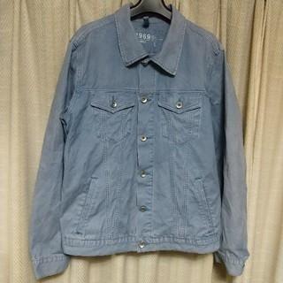 ギャップ(GAP)のGAP デニムジャケット Lサイズ 薄青 ギャップ アメカジ カジュアル 古着屋(Gジャン/デニムジャケット)