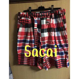 サカイ(sacai)のsacai チェックショートパンツ(ショートパンツ)