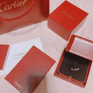 Cartier - トリニティリング ホワイトゴールドセラミック