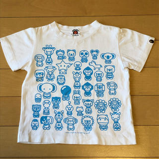 アベイシングエイプ(A BATHING APE)のA BATHING APE☆キッズTシャツ☆110cm(Tシャツ/カットソー)