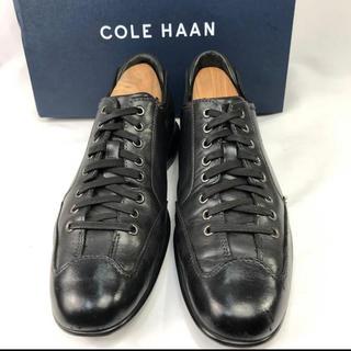 コールハーン(Cole Haan)のコールハーン レザー スニーカー 革靴 ビジネスシューズ 約25.5cm(スニーカー)