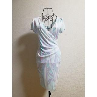 デイジーストア(dazzy store)のドレス ワンピース タイト カシュクール(ひざ丈ワンピース)